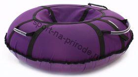Тюбинг Hubster Хайп фиолетовый 90 см