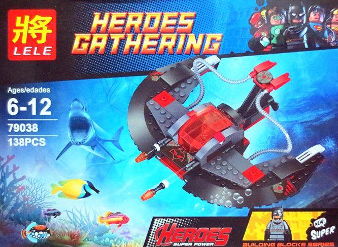 """LELE HEROES GATHERING """"Подводный Корабль Бэтмена"""" NO.79038"""