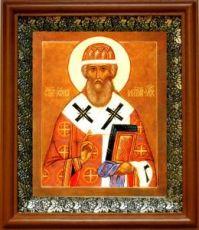 Иона Московский (19х22), светлый киот
