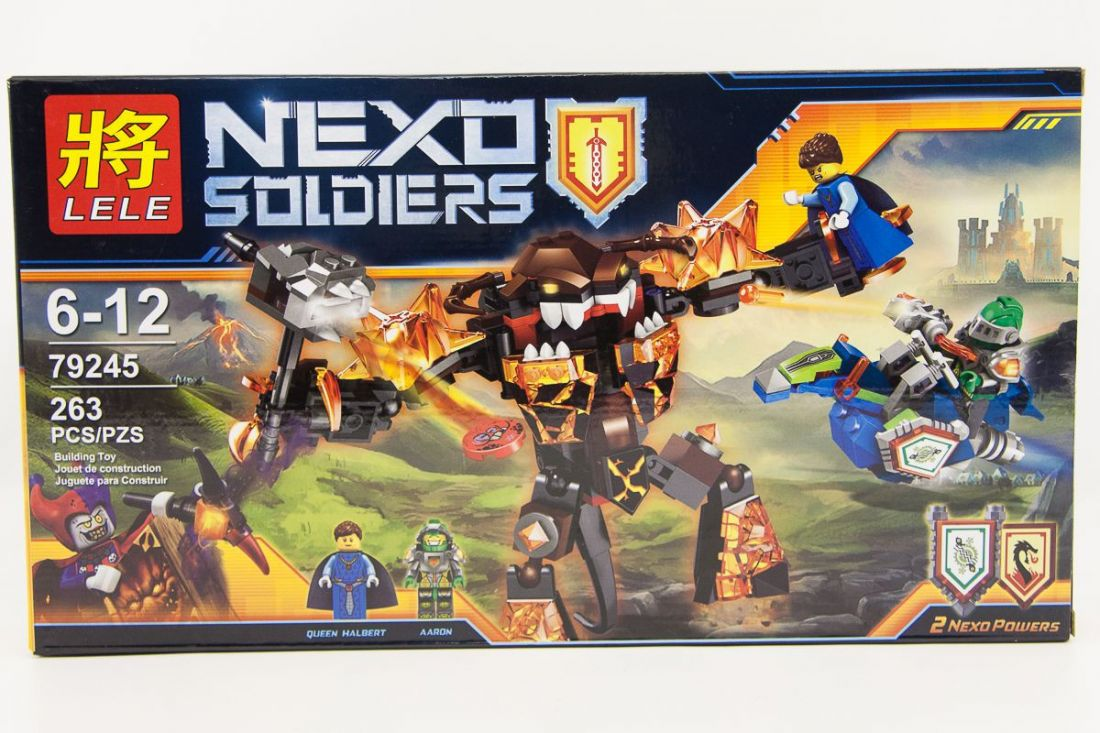 "LELE NEXO SOLDIERS ""Инфернокс"" 263 деталей NO.79245"