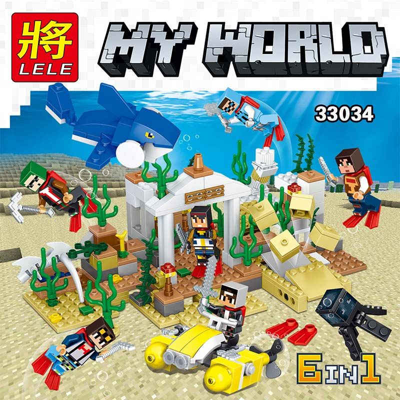 """Lele My World 33034 Подводный мир """" Набор из 6 конструкторов """""""