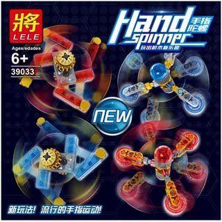 """LELE HAND SPINNER """" Набор из 16 спиннеров"""" NO.39033"""
