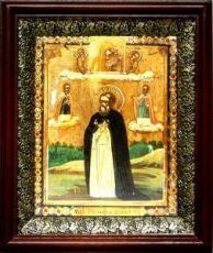 Иосиф Вологодский (19х22), темный киот