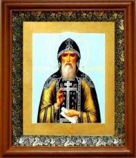 Иосиф Волоцкий (19х22), светлый киот