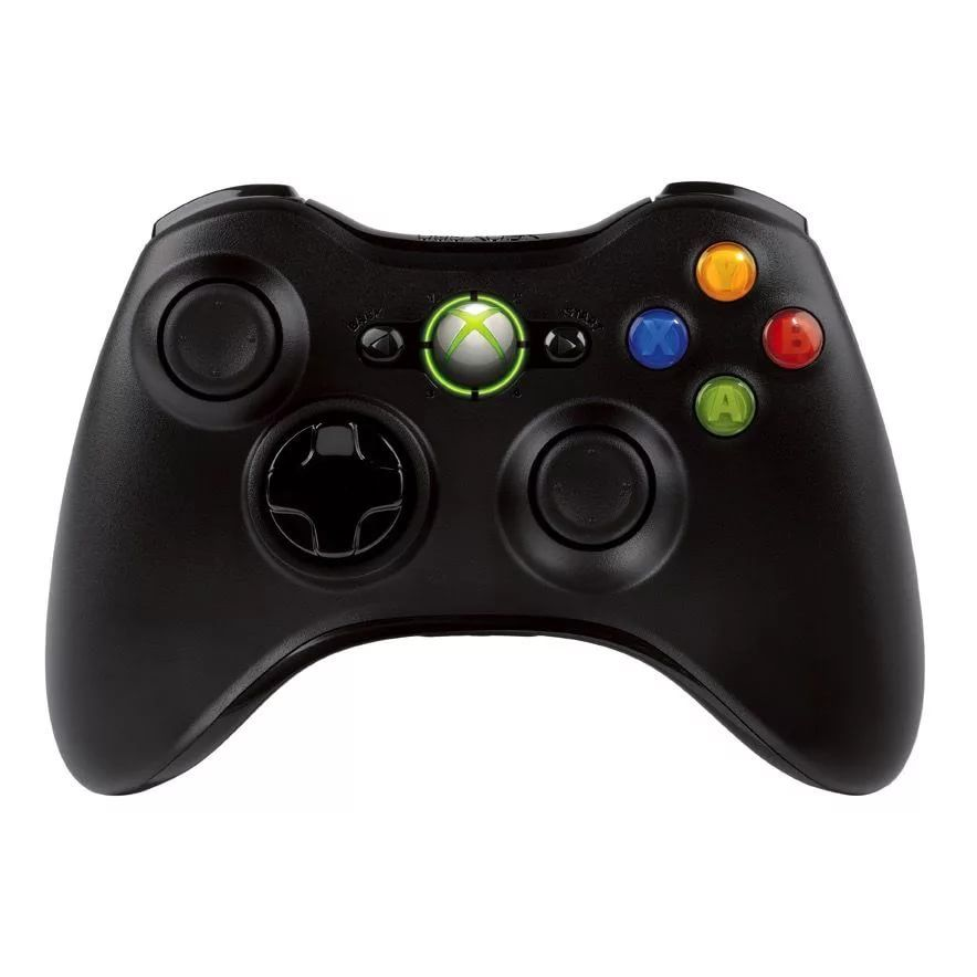 Microsoft Xbox 360 Wireless Controller ( Черный )