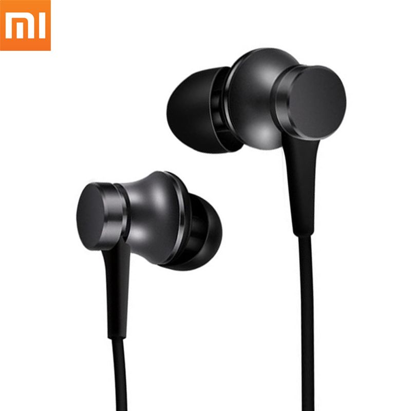 Наушники Xiaomi Mi In-Ear Headphones Basic (Черные)