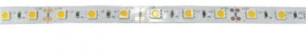 Светодиодная лента Ecola 12В  теплый белый 7.2w/m IP65