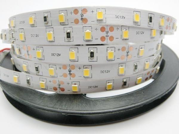 Светодиодная лента Jazzway 12В  теплый белый 6w/m IP20