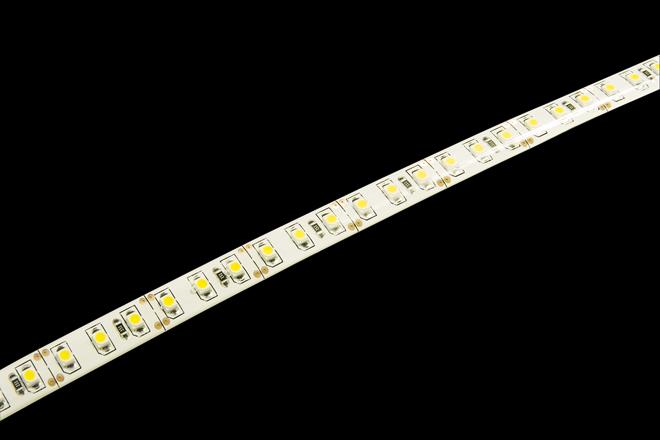 Светодиодная лента Jazzway 12В  теплый белый 10w/m IP65