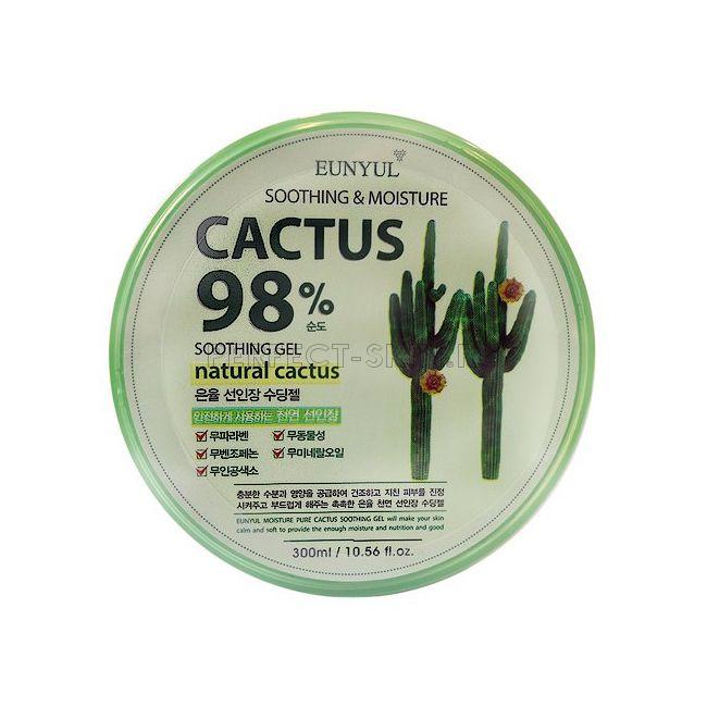 Eunyul Cactus Moisture Soothing Gel (round type)