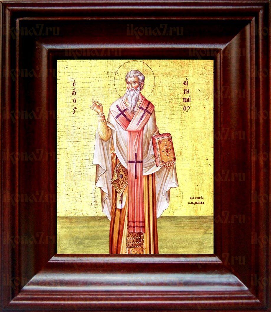 Ириней Лионский (Лугдунский) (21х24), простой киот