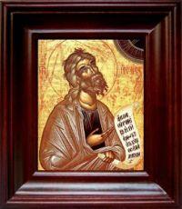 Пророк Исаия (21х24), простой киот
