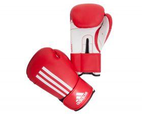 Перчатки боксёрские красно-белые Energy 100 Adidas ADIEBG100