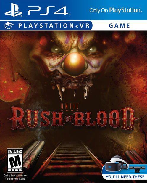 Until Dawn: Rush of Blood ps4 (только для VR) Дожить до рассвета: Жажда крови