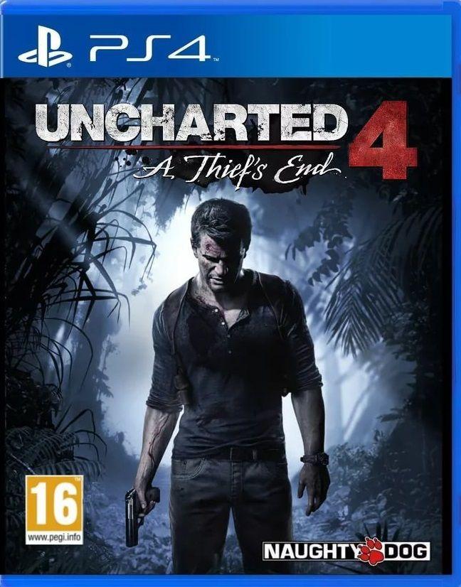 Игра Uncharted 4: Путь Вора PS4 ( Русcкая Версия )