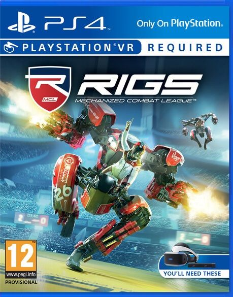 RIGS Mechanized Combat League ps4 только для VR