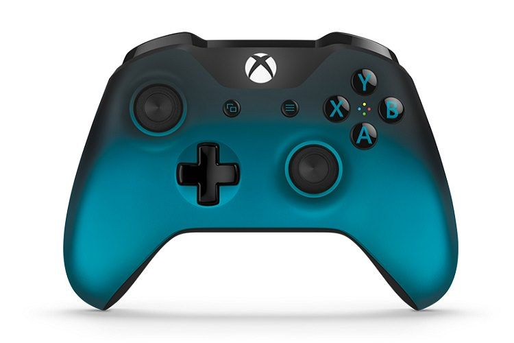 Microsoft Xbox One S Wireless Controller джойстик SPECIAL EDITION OCEAN SHADOW