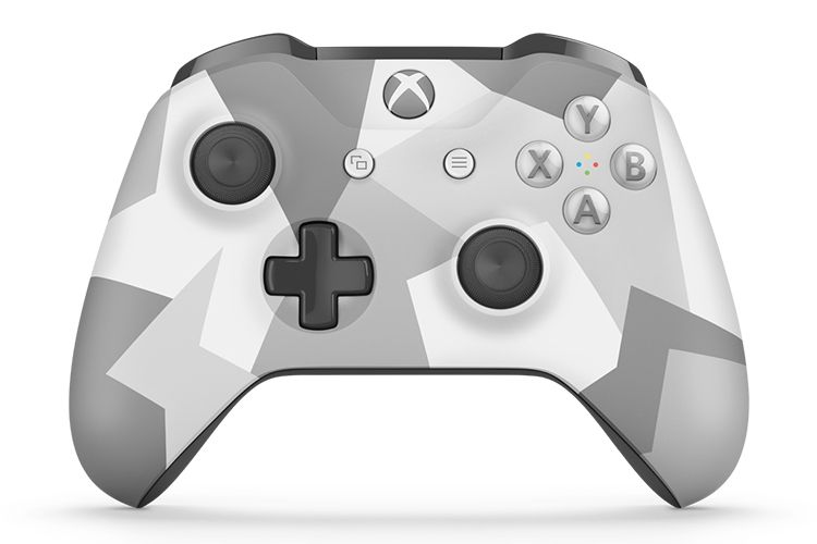 Microsoft Xbox One S Wireless Controller джойстик SPECIAL EDITION WINTER FORCES