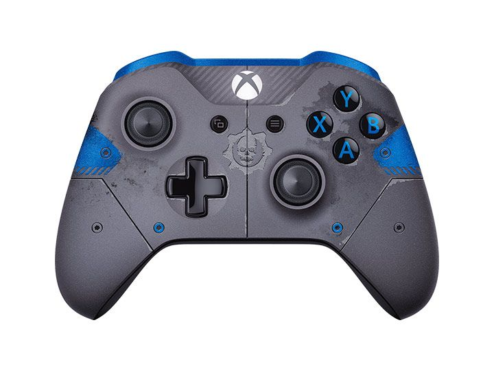 Microsoft Xbox One S Wireless Controller джойстик GEARS OF WAR4 BLUE