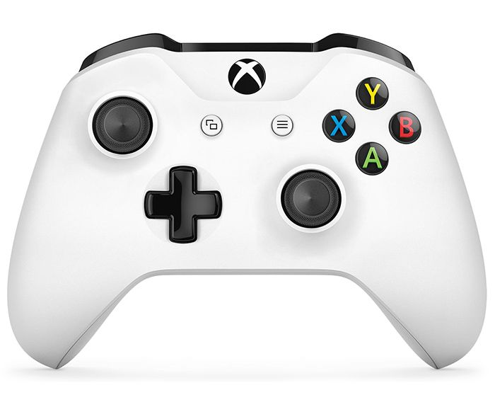 Microsoft Xbox One Wireless Controller джойстик White