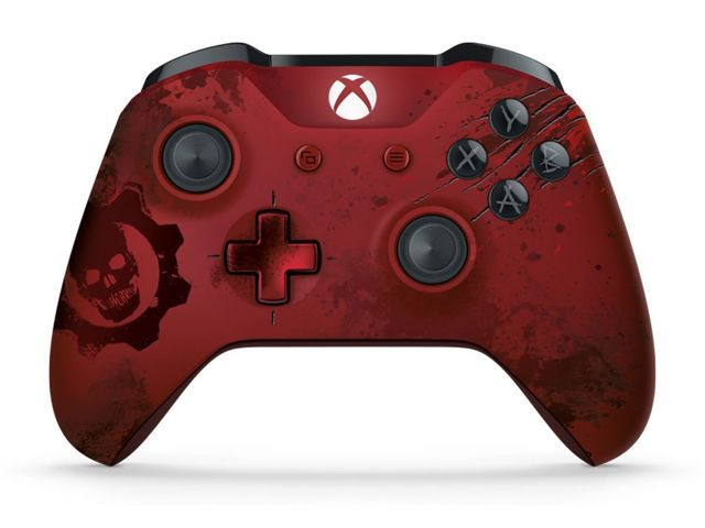 Microsoft Xbox One S Wireless Controller джойстик GEARS OF WAR4 RED
