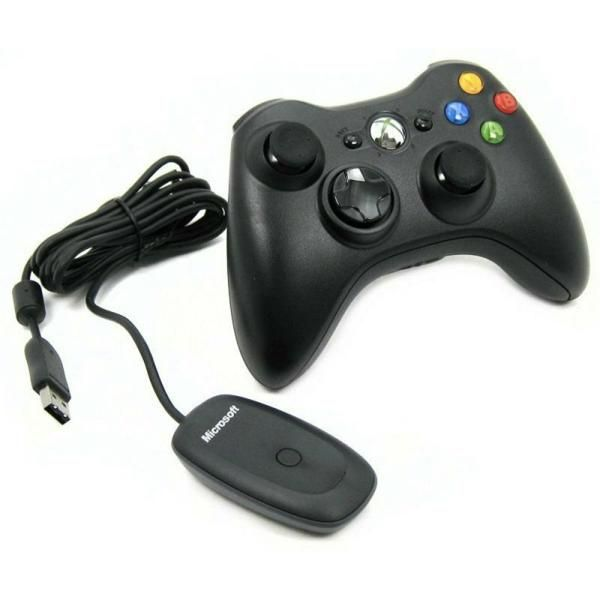 Microsoft Xbox 360 Wireless Controller for Windows Черный