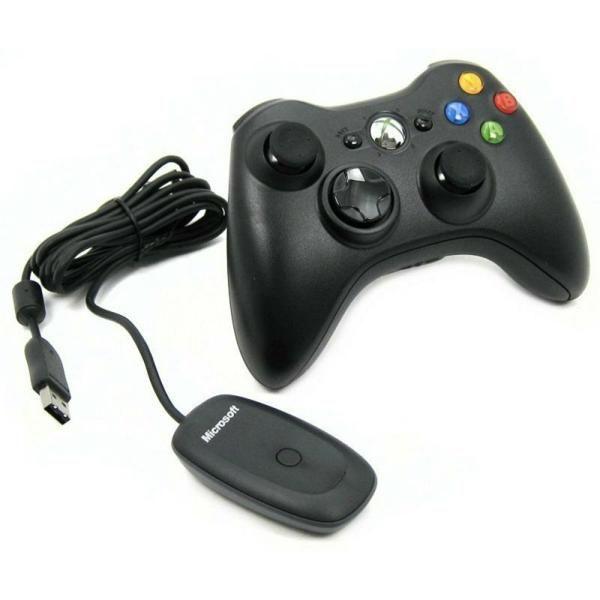 Microsoft Xbox 360 Wireless Controller for Windows Черный