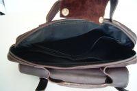 BUFALO TRP-03 BROWN кожаный рюкзак-портфель-трансформер