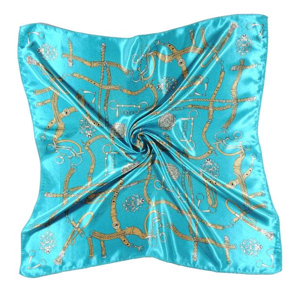 """Шейный платок """"Кожаные ремешки"""" (2 цвета)"""