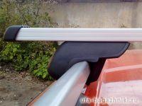 Багажник на рейлинги Атлант, прямоугольные дуги