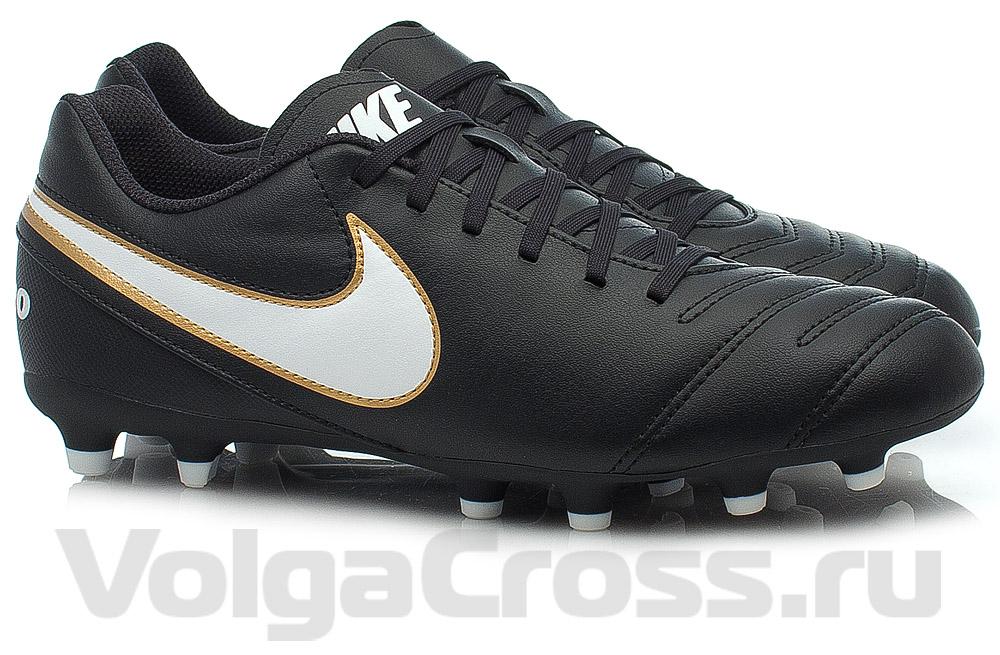 cc239a3d480 Бутсы для футбола Nike Tiempo Rio III FG (819233-010)