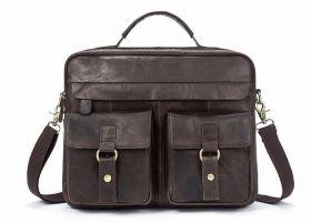 Мужская кожаная сумка OGRAFF