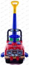 Автомобиль Джип-каталка с ручкой - №2 (красный)