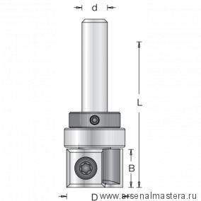 Фреза обгонная с верхним подшипником со сменными ножами DIMAR 19x30x71x8 1073835