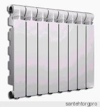 Радиатор алюминиевый Calidor B4 500/100 Fondital 1 секция