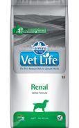 Farmina Vet Life Dog Renal Диета для собак при хронической почечной недостаточности и для вспомогательной терапии при застойной сердечной недостаточности (2 кг)