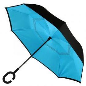 Умный зонт- Цвет-Голубой