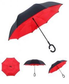Умный зонт- Цвет-Красный