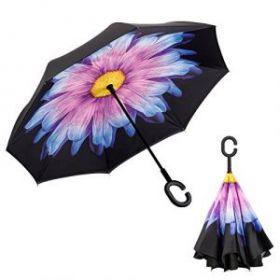 Умный зонт- Цвет-Фиалка