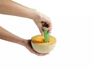 Нож для чистки и нарезки дыни Melon Prep Tool