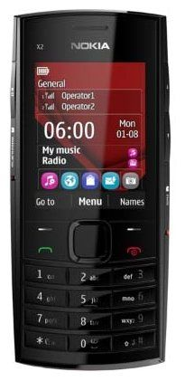 Nokia X2-02 Single / Dual SIM