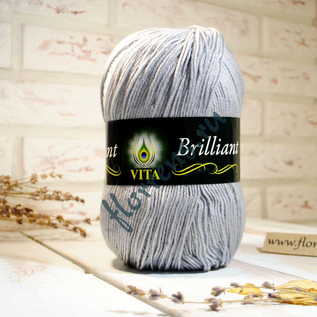 Пряжа Brilliant / 4963 св. серый