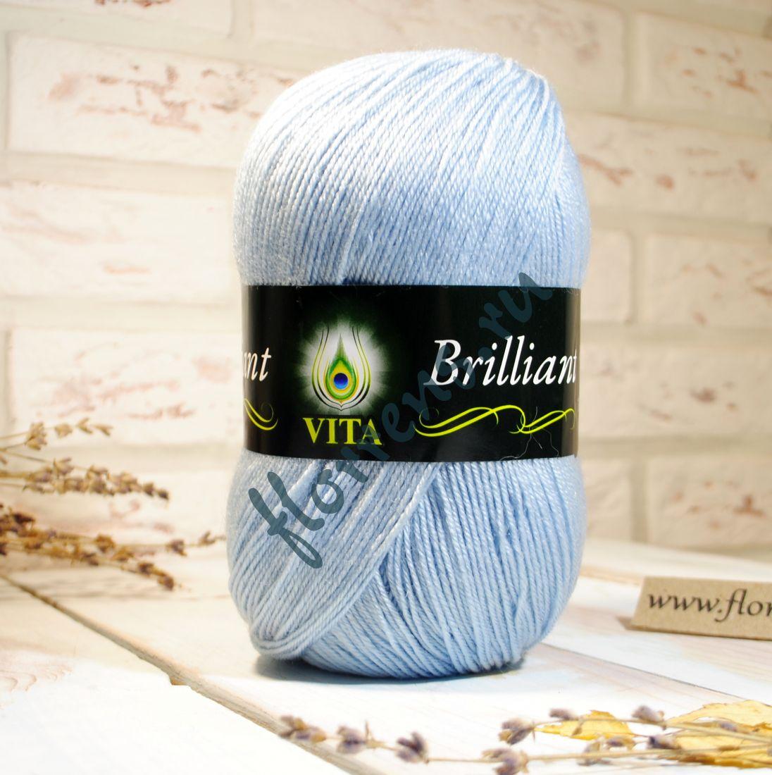 Пряжа Brilliant / 4967 св. голубой