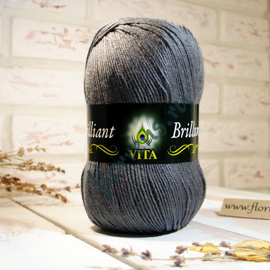 Пряжа Brilliant / 4980 серый