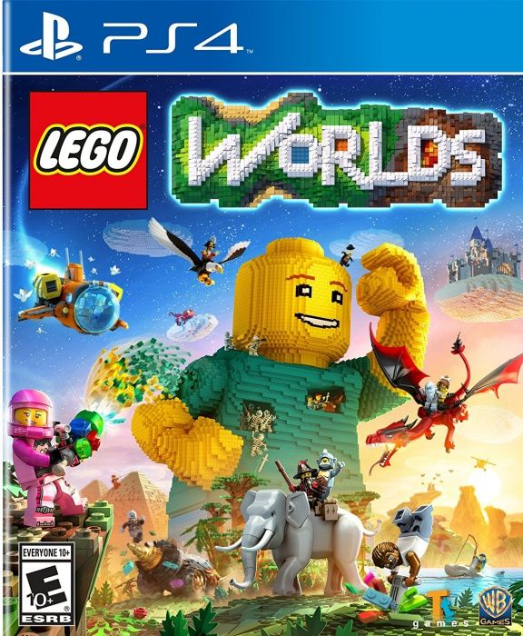 LEGO Worlds ps4, (русская версия)