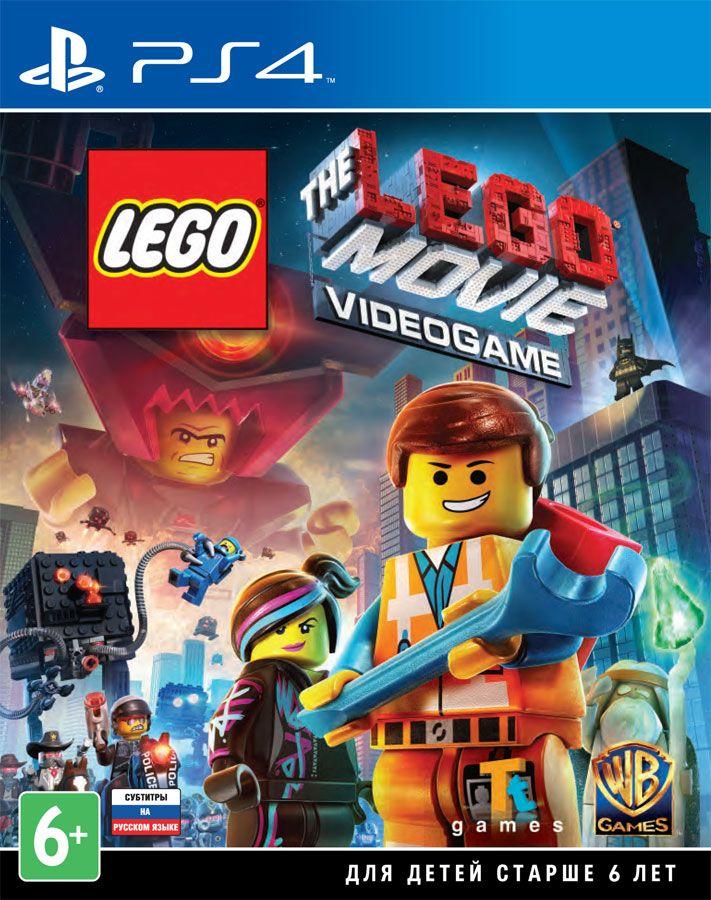 LEGO Movie Videogame ps4, (русские субтитры)