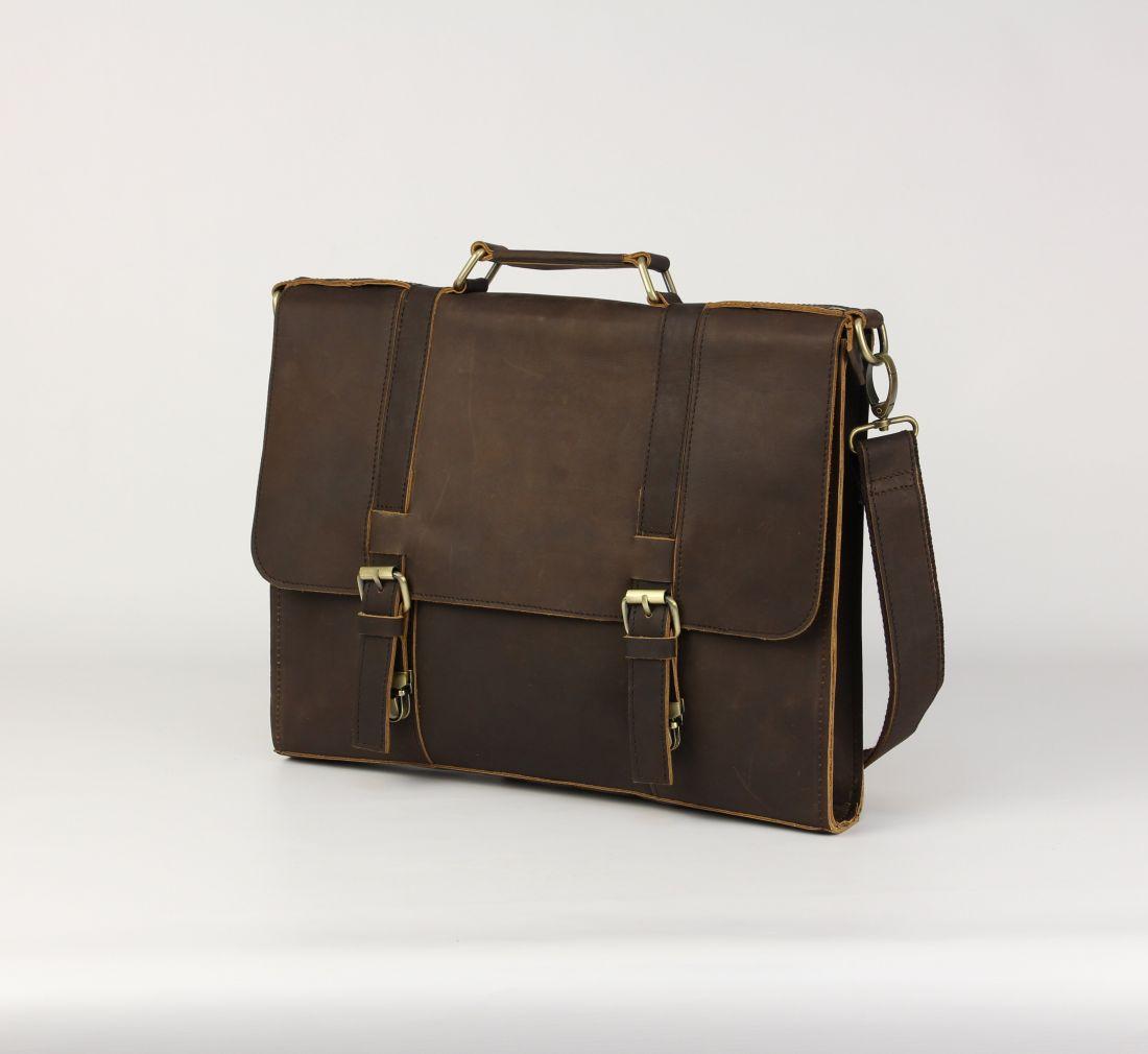 BUFALO LBN-03 BROWN деловой портфель