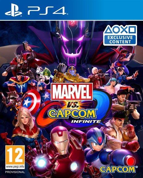 Marvel vs. Capcom: Infinite PS4, (русские субтитры)