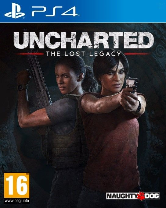 Uncharted: The Lost Legacy ps4 (русские субтитры)