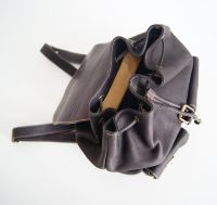 BUFALO BPJ-07 BROWN кожаный рюкзак